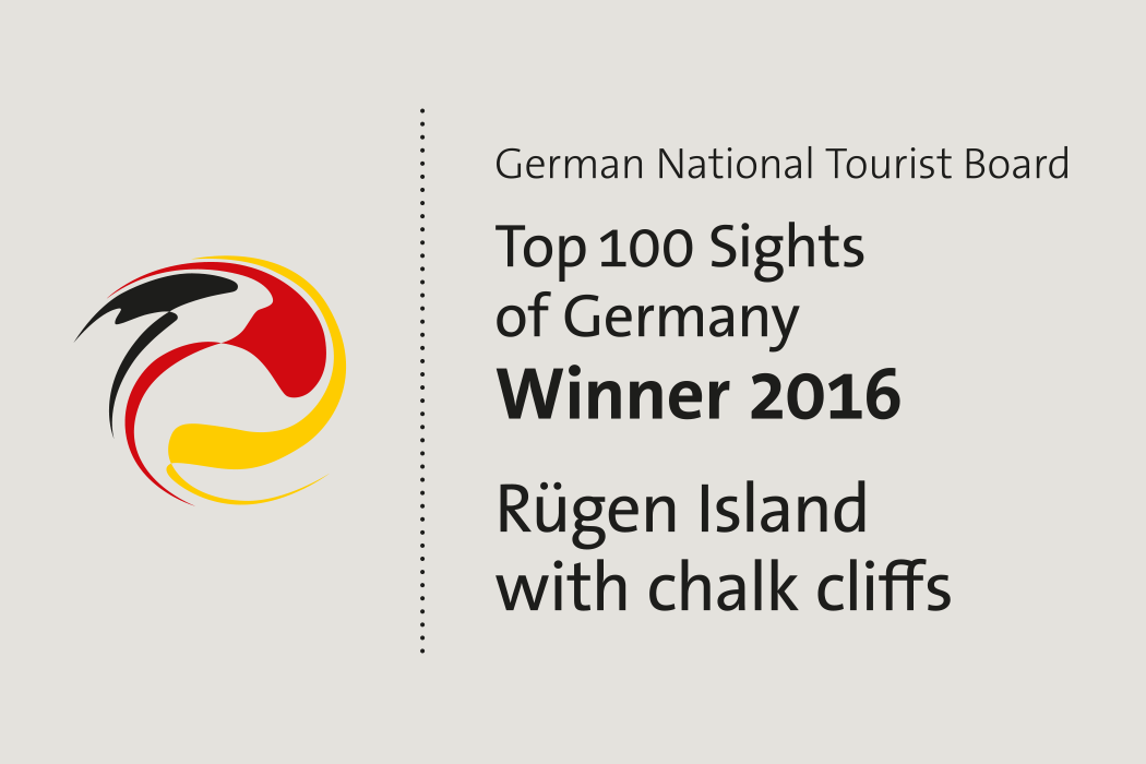 Top 100 Sight of Germany - Winner 2016 - Rügen island with chalk cliff